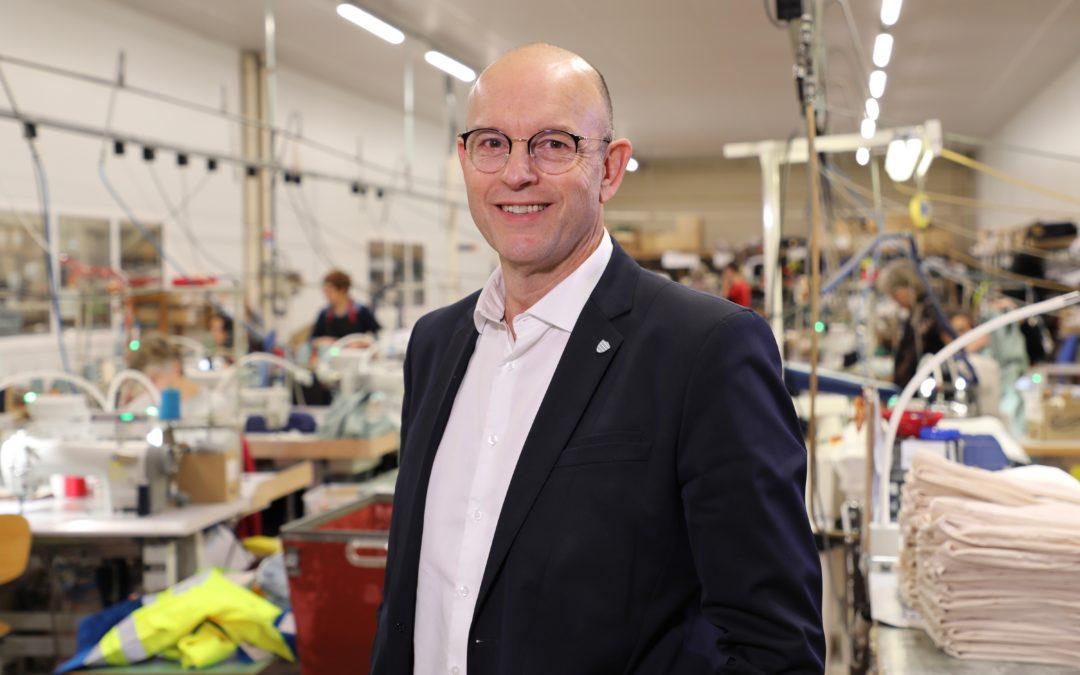 Interview de Marc Pradal, Président de l'Union Française des Industries Mode et Habillement (UFIMH) et PDG de Kiplay